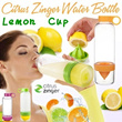 ☆Lemon Cup☆LOWEST PRICE*Citrus Zinger Water Bottle Light Bottle/Vitality Manual Juicer Cup ☆Aqua Zinger☆2014 update