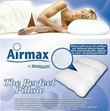 Airmax Pillow-Posture Correct Massager Pillow / Helps with headaches as well as neck and shoulder pa