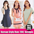 All At 1 Price $10.90  Plus Size (S-XXXXL)   New Arrivals Korean Ladies Fashion Dress [Buy 2 Free Shipping]