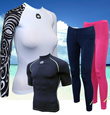 MOWAVE Adult Rash Guards / Swimwear / Women Rash Guards / Mens Rash Guard / Rash Guards on
