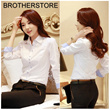 FREE SHIPPING! 2014 Korean Fall collection! Ladies V neck long sleeve cute polo suit clothes! Hit item in wardbore!