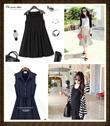 ★S-3XL★ Fashion Design Maternity Cloth Dress