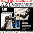 NEW..!!! [AXO] Safety Decker Racing Pelindung Siku dan Lutut Pengendara Motor | RIDER and BIKER must HAVE...!!!