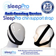 98% Effective~ Anti Snoring Chin Support Strap - The Perfect Treatment for Open Mouthed Snorer.