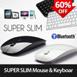[GOODS STAR] Super Slim Wireless Mouse n Bluetooth Keyboard