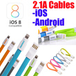 【100% AUTHENTIC】Japan No.1 DOCOMO Fast Charge/Sync Micro USB Samsung/HTC/LG/mi3 Cable Speedy Cables Fast Charge/Sync Flat Lightning Cable iPhone 6 5S Micro USB Samsung 30pin iPhone4 Remax