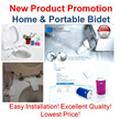 Korean Patent Non-Electric Micro Smart Bidet Easy Installation Operation Adult Women Baby Hygiene Control Pressure Portable Bidet Fits Bag Backpack Easy Use Travel Outdoor Sport Public Areas
