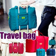 Free shipping)Travel bag/foldable bag/travel pouch  bag