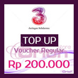 ★TOP UP PULSA 3★ Rp 200.000 ~ FAST n READY