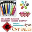 ★CNY SALES★FREE GIFT★ SELFIE MONOPOD + FREE PHONE BRACKET + BlueTooth Remote Shutter ★