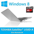 Satellite U50D-A/2.0GHz A6-5200 Processor/4GB DDR3/SATA 750GB HDD/15.6inch/Radeon H8400 Graphic/1366*768(16:9) / Notebook / Laptop