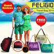 FELIGIO Travel Bag/Tas Travel_FREE Tote Bag and FREE Ongkos kirim JABODETABEK!! Cheap Ever and Limited. Grab Now Ladysss..