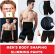 NEW MENS HIGH WAIST BELLY SLIMMING SHAPING PANTS{ New Abdominal Waist Cincher /Sport Body Shaper}FOR MAN