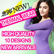 【Thermal inner】Ultra thin thermal inner to thick innerwear/Super warm/Perfecr for winter/Must have winter item/