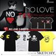 Fast Shipping! HOT SALE! Korean Male group Bangtan Boys similar design print short sleeve couple t-shirt/ concerts wear