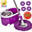★New Version★360 Stainless Steel Rotating Spin Mop/Free 4-Mop Heads/Genuine Warranty/Fast shipping★