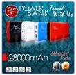 Power Bank 28000mAh TWU