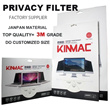 "Kinmac privacy filter for  laptop /LCD 10"" 11""12""13""14""15""15.6""17""18""19""20""21""22""23""24""27inch Privacy Screen Protector For macbook air/pro 11 13 15 17inch with retina display"