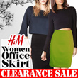 CLEARANCE SALE!!! HnM Woman Office Skirt - Ann Taylor Bodycon Skirt. Grab it Fast...