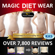 MAGIC DIETWEAR - effectly diet with crassiang body suitall-in-onegirdlenipper hip up! Volume up!
