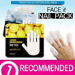 [THE FACE SHOP] Nail Pack / Nail Mask / Milk Calcium Parafin Lemon