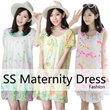 ▶Spring n Summer Pretty Maternity Onepiece Dress◀ GAB GFC- Comfort n Fashionable High quality material/ Home n Outdoor Mommy Fashion /Women Dress Onepiece / 12 styles