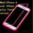 New Gift iphone 6 Mobile case Shell 4.7 and 5.5-inch touch screen mobile phone protective sleeve apple six TPU matte shell