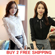 ★Free shipping ★ 2014 Spring Item spring spring and summer recommended products cut-and-sew border three-quarter sleeves long sleeves