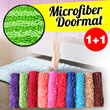 1 + 1 MICROFIBER DOORMAT ~ KESET CENDOL dan CENDOL SALUR ~ UK.40x60cm ~ Warna dikirim RANDOM