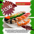 $15.90 for All You Can Eat Sushi Buffet+Ramen of The Day+Free Flow Japanese Green Tea in 2 Locations
