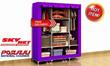 [Malaysia Seller]King Size - Waterproof Multi-functional Wardrobe