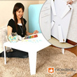 60cm x 40cm Foldable Coffee Table (5 Colors Available)