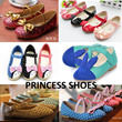 Princess Shoes for Kids Children / Canvas / Slippers