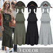 2014 special price !New item! lady s  casual long hooded dress /one-piece/suspender skirt overalls/ strapless sundress/long camisole skirt/ bottoms/shirt dress