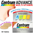 [U.P. $35] 40% OFF World No.1 Bestselling Health Multivitamin Supplement: Centrum Advance Complete from A-Zinc (60 Tablets)