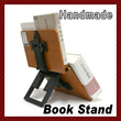 WOODEN BOOK STAND MUSIC STUDY COOK HOLDER PORTABLE BOOKSTAND GIFT