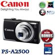 [CANON]**DIGITAL CAMERA PRO SHOT A2500 (FREE BONUS GIFT SDCARD 8GB)**
