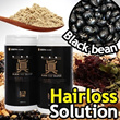 [JIN Black Food Solution] Hairloss Solution! Plus Weight Loss! Blackbean 50% Premium Nutritious Food, was developed based on dozens of paper on hair loss and nutritents.