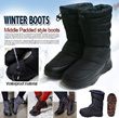 [sodam#]MAILAILAI genuine product qoo10 only product Women and Men Waterproof Winter Warm padding boots ! Sturdy insole! Light and comfy/winter fashion/etc/winter boots