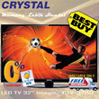 CRYSTAL LED TV 32 Imagine CTV-3200|BEST BUY|FREE DELIVERY JADETABEK ONLY