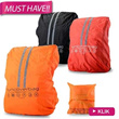 RAIN COVER BACKPACK FUNCOVER # 4_WARNA # DENGAN KAIT