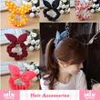 「mixshop.sg」★ Hair Accessories ★ Hairband / Headband / Hairclip / Rabbit Ear Hairband / Rubber Band /  Assorted Colors Fashion Hair Ties / Korean style / Fast Delivery