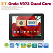 Brand New Onda V973 Allwinner A31 Quad Core 2G/16G Android 4.2.2  Tablet PC 9.7 Retina IPS Capacitiv
