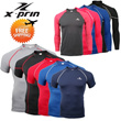 XPRIN Compression Skin Wear Tight Gear Base Layer Running Sports Wear Rash guard Swimming Jersey