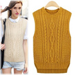 ★GET EXTRA 20% OFF STOREWIDE For Every $20 Spent! [[Free-Shipping] ▶Basic Knit Vest◀ ▶light Fabric◀ ▶Korea Best popular◀ woman clothing winter casual muffl