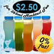 $2.50 For a 365ml bottle of Mocktail at Paradise Tea ! (u.p $4.50)