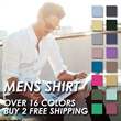 [BUY 2 FREE SHIPPING] Men Slim Fit Shirts 2014 Fashion Casual Shirts Formal Shirts Groom Groomsmen
