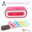 2015 Bestseller Portable Bluetooth Speaker   Handsfree Speaker Call MicroSD TIF card Aux Singapore Seller Fast Delivery
