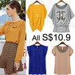 【8/3 Update】FLAT PRICE 10.90 ONLY! Buy 3 Free Shipping EU Korean Fashion Tops Blouses Dresses