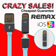 Unbelievable Crazy Sales Fast Charge 2 in 1 data charging cable/ Remax iPhone 5S/5C/5 iPhone 6 USB lightning cable Samsung Note 3 / S5 cable 3-in-1 cable (iphone5S/5C/5 Samsung Note3 Power Plug)